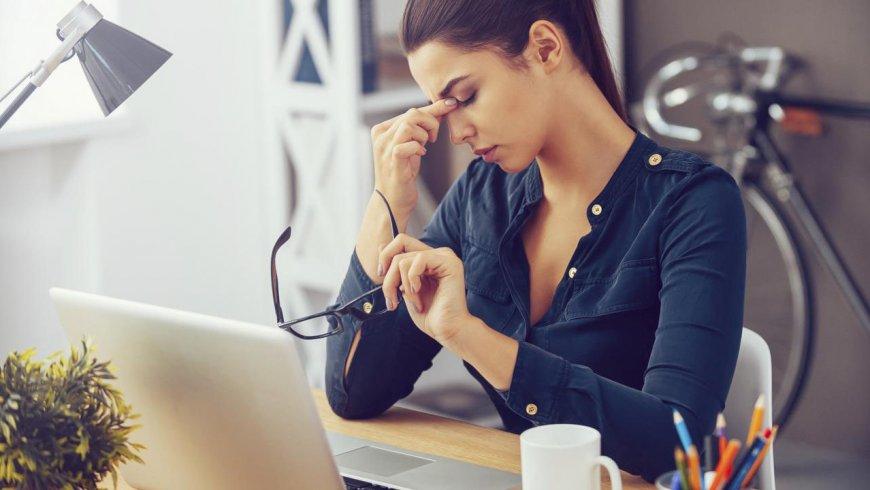 Fatiga visual es la enfermedad más común en los ejecutivos