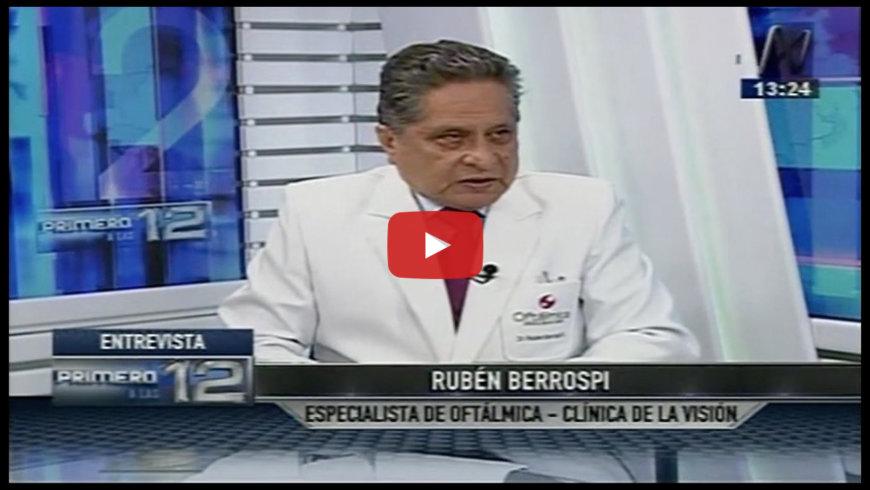 Dr. Rubén Berrospi en Canal N