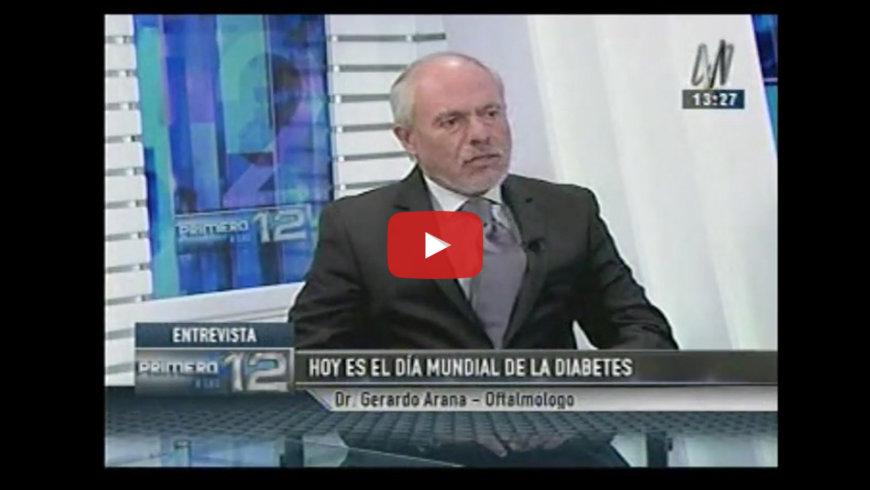 Entrevista al Dr. Gerardo Arana en Canal N