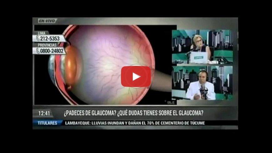 ¿Padeces de glaucoma? ¿Qué dudas tienes sobre el glaucoma? en Radio Capital