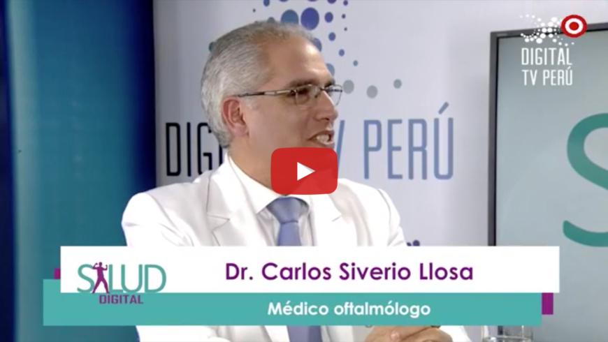 Entrevista sobre el ojo seco al Dr Carlos Siverio Llosa en Digital TV