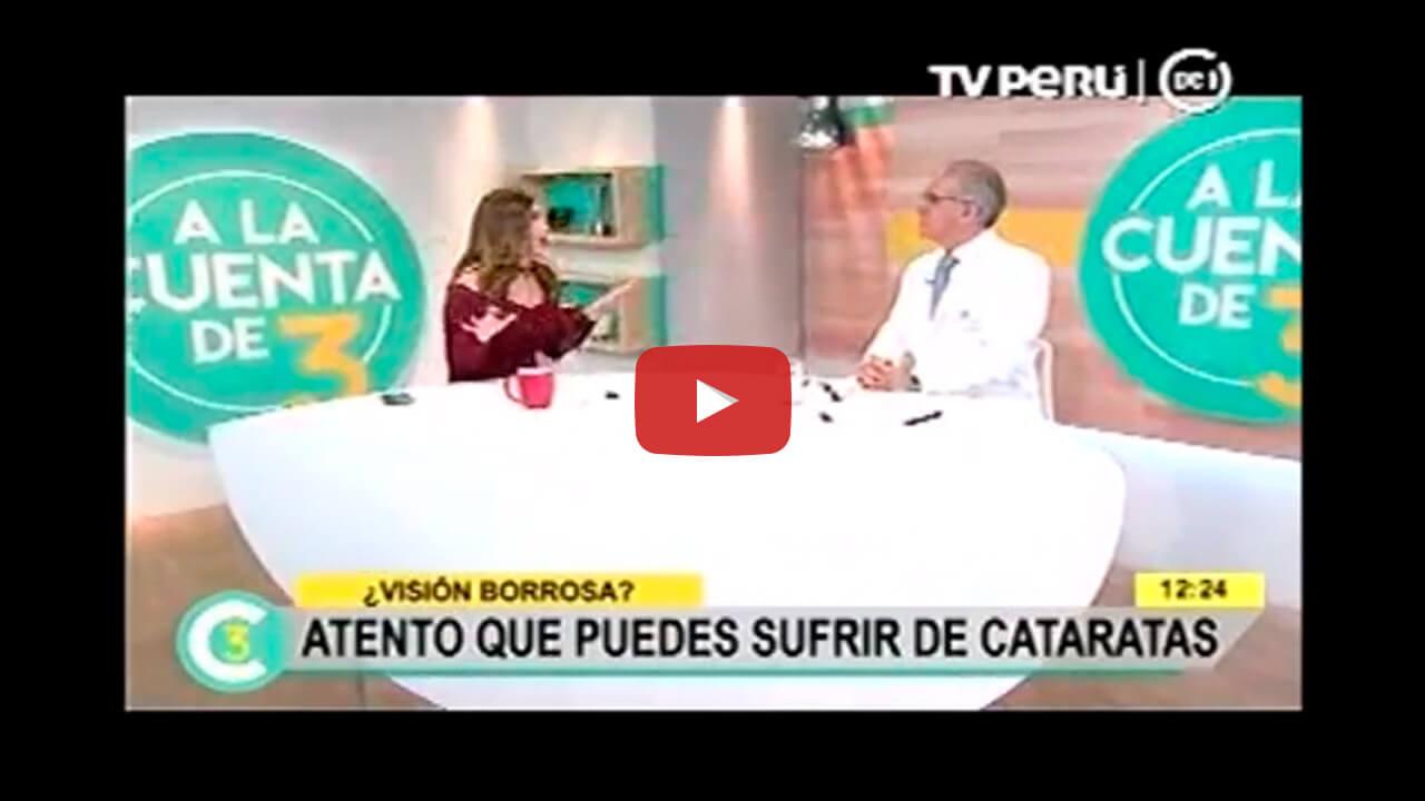 """Entrevista al Dr. Carlos Siverio Llosa en """"A la cuenta de 3"""""""