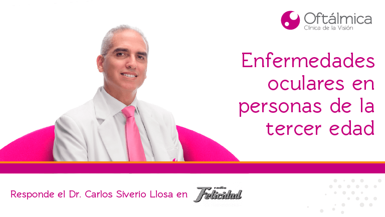 Conversamos con el Dr. Pérez Albela sobre enfermedades oculares en adultos mayores