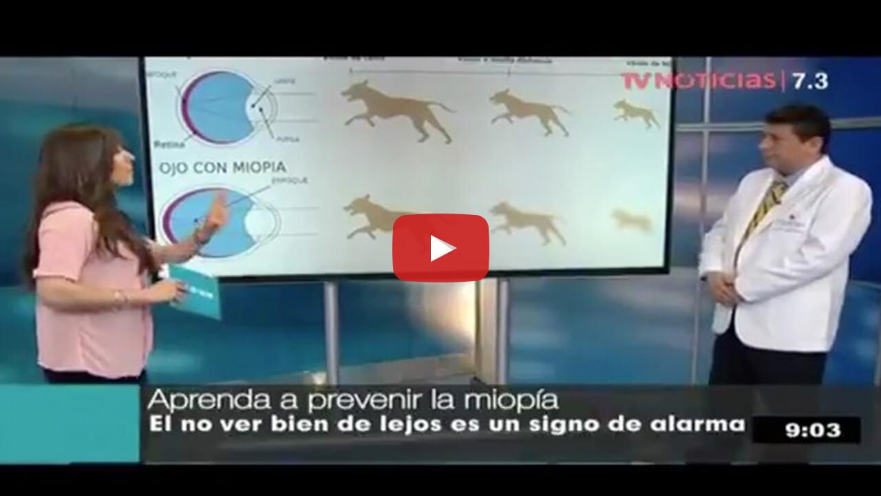 Miopía y problemas oculares por el uso de dispositivos móviles