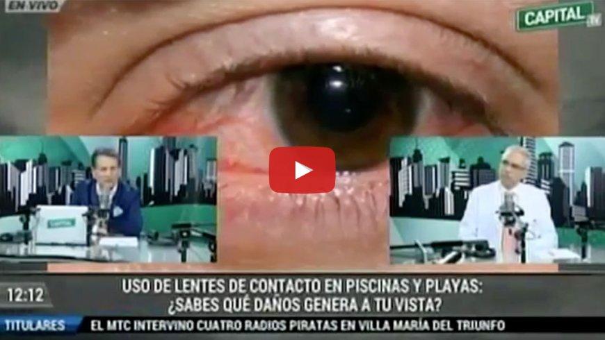 Uso de lentes de contacto en piscinas y playas: ¿sabes qué daños genera a tu vista?
