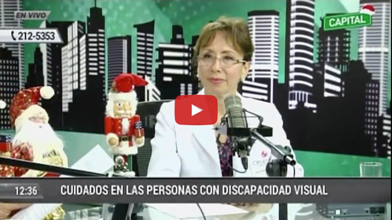 Cuidados en las personas con discapacidad visual en Radio Capital