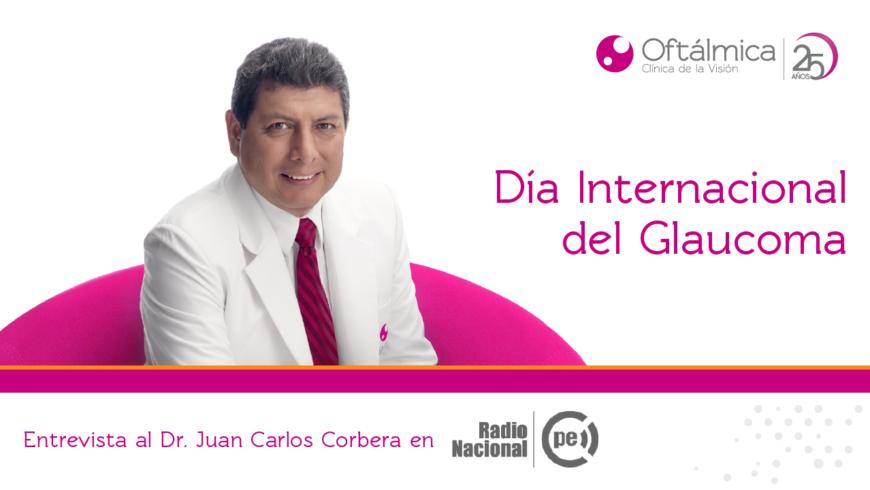 Día Mundial del Glaucoma en Radio Nacional