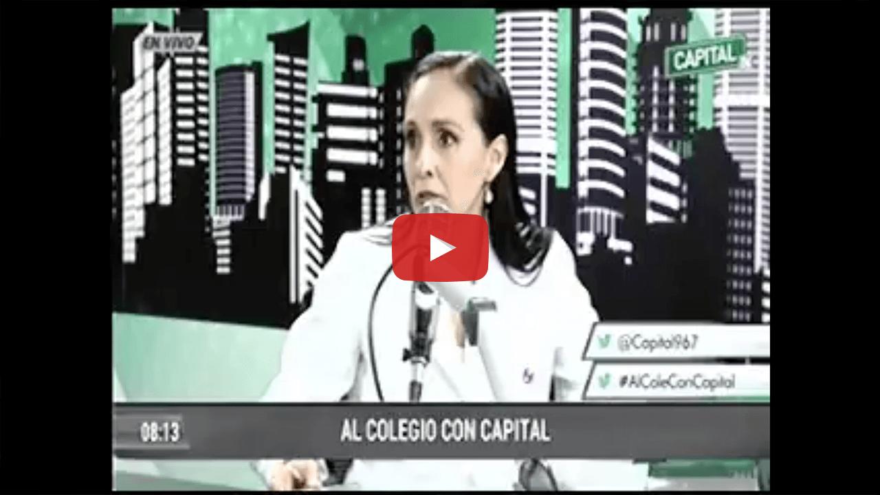 Entrevista a la Dra. Marchena en Radio Capital