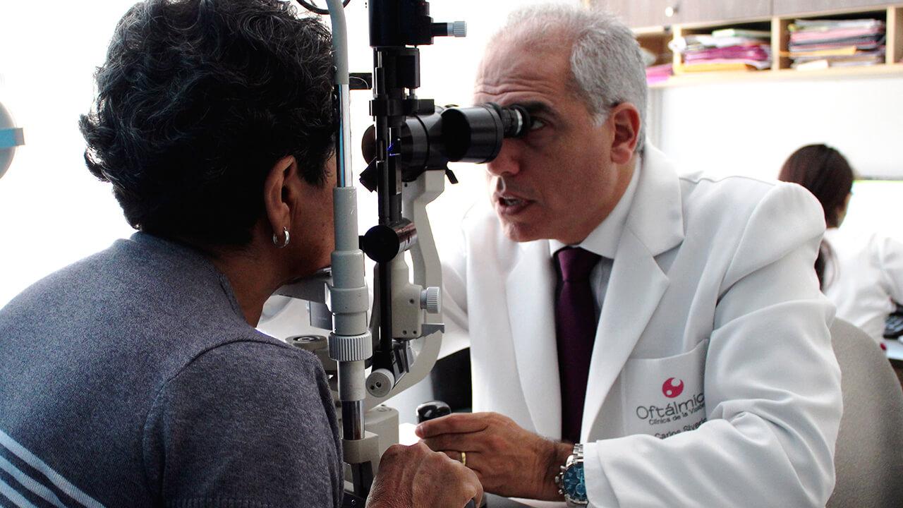 Oftálmica, Clínica de la Visión realizó campaña gratuita de despistaje de catarata y glaucoma