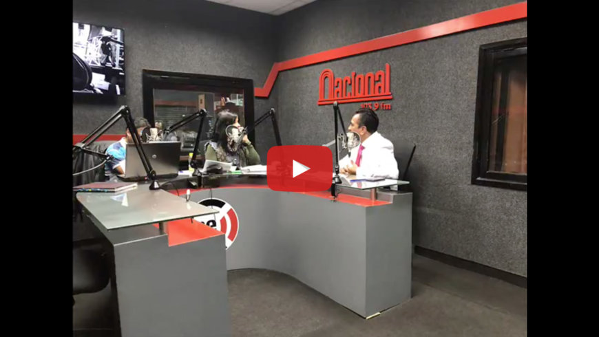 Entrevista al Dr Héctor Palacios en Radio Nacional