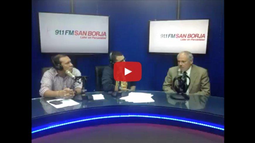 Entrevista al Dr. Arana en Radio San Borja