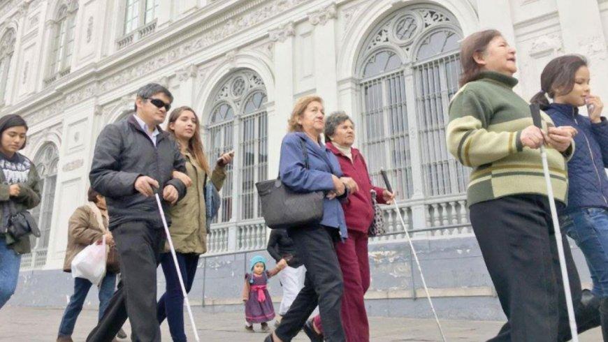 600 mil peruanos sufren de alguna discapacidad visual