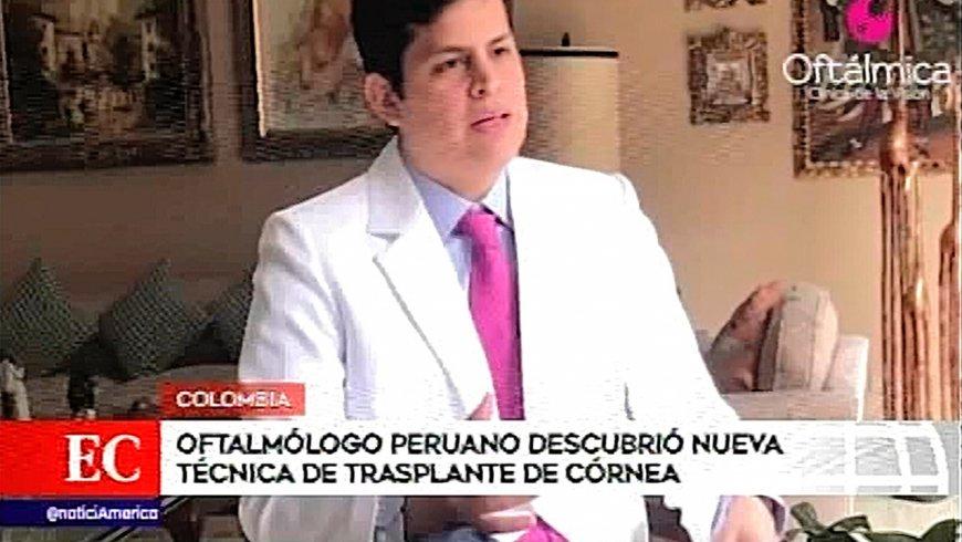 Oftalmólogo peruano descubrió nueva técnica de transplante de córnea